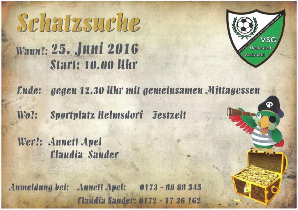 Schatzsuche 2016